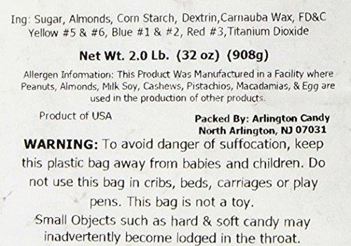 Jordan Almonds Pastel (2 Lb Bag)