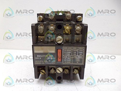 ALLEN BRADLEY 700-N400A1 SER. C CONTROL RELAY (AS PICTURED)USED