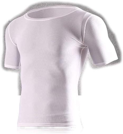 YUMUYMEY Camiseta de Manga Corta en seco para Hombre Camiseta básica de compresión Camisas: Amazon.es: Deportes y aire libre