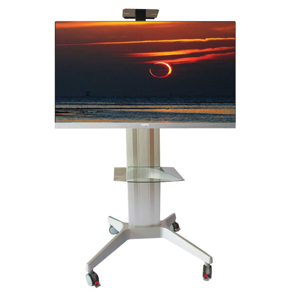全ての 移動式テレビの表示床の立場 B07PNPQFFL LED、ワイヤー管理360°度の旋回装置の高さ調節 LCD LED LCD のプラズマの平らなパネルの寝室の居間の会議室 B07PNPQFFL, BIA:b16ce1ab --- arianechie.dominiotemporario.com
