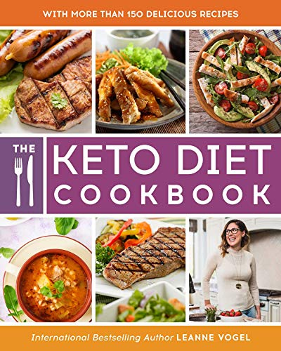 The Keto Diet Cookbook by Leanne Vogel