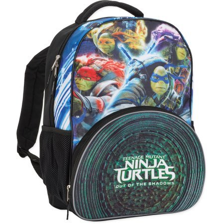 Nickelodeon B16TT29415 Teenage Mutant Ninja Turtles Movie City Ninjas Backpack