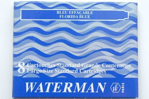 WAT52022 - Waterman Refill Cartridges for Waterman Fountain Pens