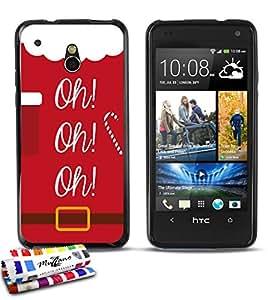 MUZZANO-Carcasa ultrafina para HTC ONE MINI (M4) de calidad superior, diseño ultrafino oh oh-oh protección contra los impactos, ELEGANTE, resistente, 1 lápiz óptico y 1 gamuza de limpieza MUZZANO, compatible con HTC One Mini, color rojo