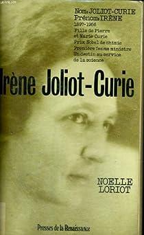 Irène Joliot-Curie par Loriot