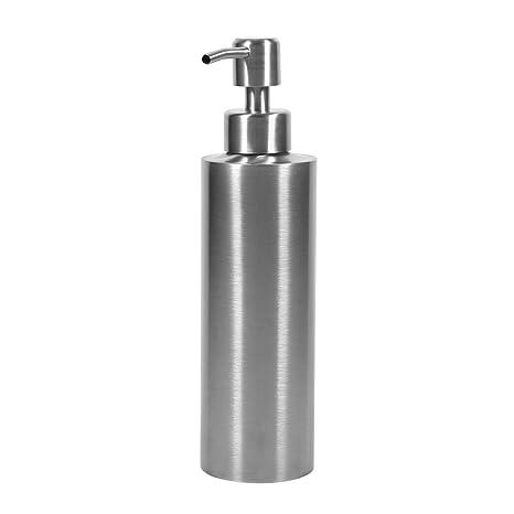 350ml Dispensador de champú Dispensador de acero inoxidable para loción/Sampoo/jabón para cocina