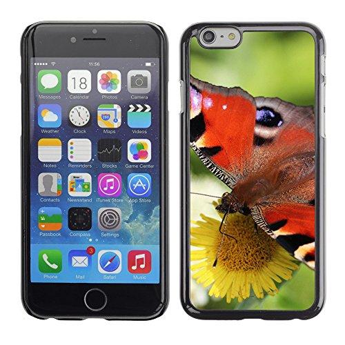 """Premio Sottile Slim Cassa Custodia Case Cover Shell // F00007602 papillon // Apple iPhone 6 6S 6G PLUS 5.5"""""""