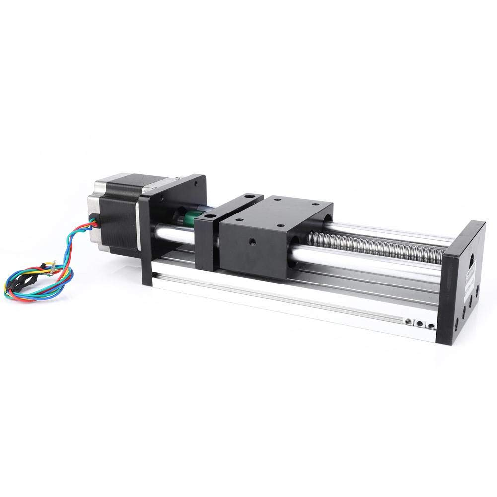 Motorized Linear Actuator 1204 300mm Stroke Linear Guide Rail Slide Table with 42 Stepper Motor for Automatic Equipment