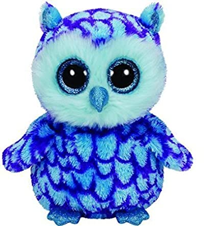 Image Unavailable. Image not available for. Color  Ty Beanie Boo 6 quot   Oscar The Blue Owl 2d55cb56367a