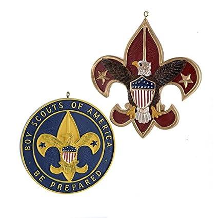 Amazon Flatback Resin Boy Scout Emblem Ornament Christmas