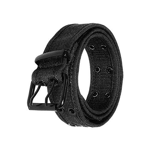[Canvas Belt Color 2043-Black-XL] (Navy Canvas Belt)