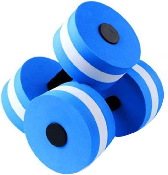 Mancuernas flotantes de espuma EVA para piscina al aire libre, juguetes de agua para piscina, mancuernas flotantes de apoyo de agua