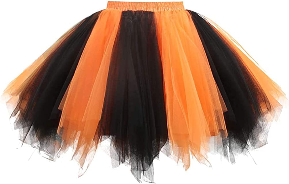 Honeystore Baby Girls Solid Color Toddler Petticoat Dance Tutus Costumes Skirt