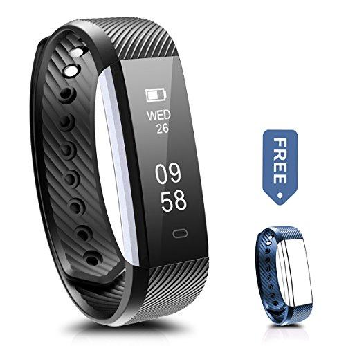 Fitness Tracker, Ronten R2 Smart Bluetooth Wristband Pedometer Smart Bracelet Sleep Monitor, Waterpr