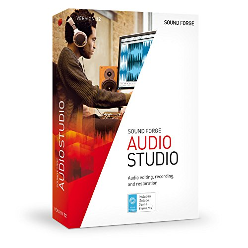 SOUND FORGE Audio Studio – Version 12 – audio editor including mastering plug-in by Sound Forge