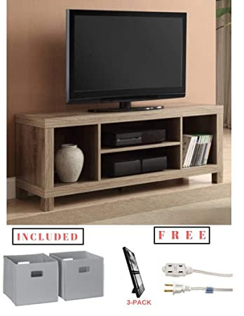 Amazon Com Cross Mill Tv Stand For Flat Screen Tv Up To 42 In