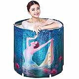 TOYM US Adult Foldable Inflatable Bath Tub Home Bath Bath Inflatable Bathtub Thicker Children Wash Basin