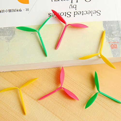 10 pcs/Lot The little Leaves bookmark Sprout mini bookmarks Stationery School Office Supply