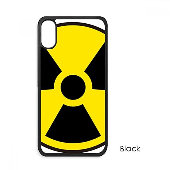 Amazon Yellow Dangerous Chemical Radiation Symbol For Iphone Xs