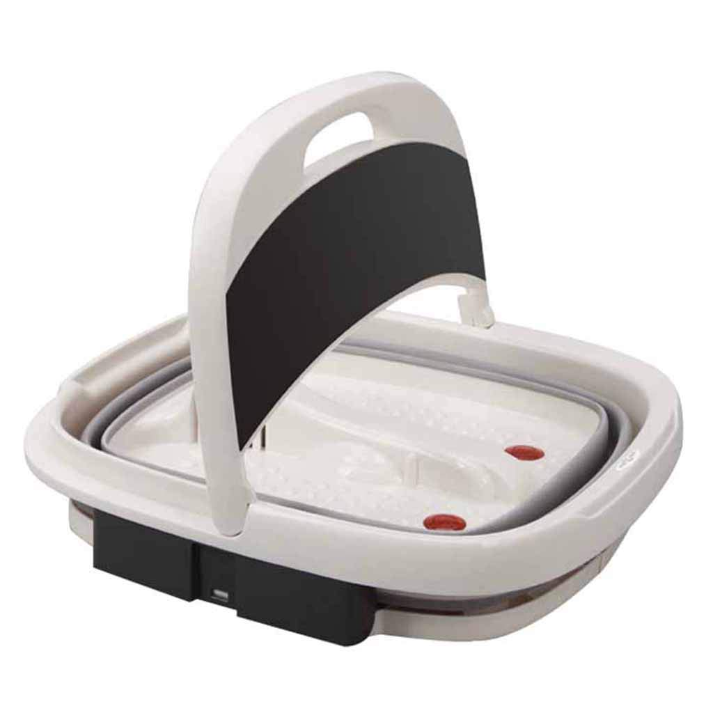 Foldable Massager Foot Bath and Portable Heating Foot Bath Spa Massager Motor Foot Bath Soaking Foot Massager Home Thermostat Roscloud@ (Color : Electric foot massage, Size : 500W)