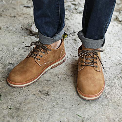 Desertica Casual Outdoor Mucca Uomini Suede Scarpe Oxford Giallo Piattaforma Formali Mens Uomo Scarpe qf4tzwf