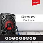 Impex G-Bang 70 Watts Stage and Party Music System with LED Light and Wireless Mic