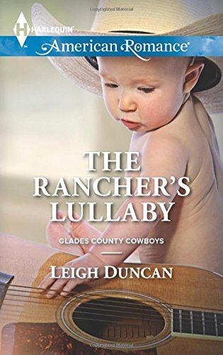 book cover of The Rancher\'s Lullaby