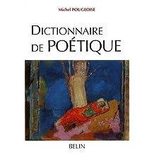 Dictionnaire de poétique