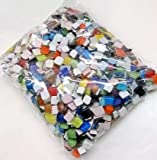 Accguan Mosaics Classico Glass Mosaic Tiles Color Variety,Great for Art Craft,1kg
