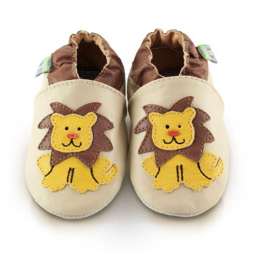 Feet Babyschuhe 18 Lion 24 Snuggle Leder Weich Monate FCAndTwq