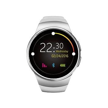 Montre-bracelet de fitness à carte SIM TF - Montre connectée pour homme - Compteur
