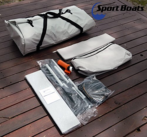 Inflatable Sport Boats Shark 9.8' - Model 300 - Aluminum Floor Dinghy with Seat Bag by Inflatable Sport Boats (Image #4)