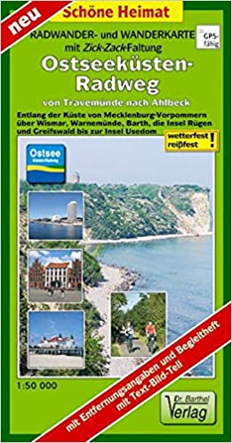 Ostseeküsten-Radweg von Travemünde nach Ahlbeck