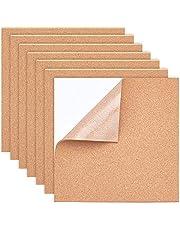 BENECREAT Zelfklevende kurk, rechthoekig, isolerende kurkplaten voor vloeren, muren, doe-het-zelvers, stansen, knutselprojecten