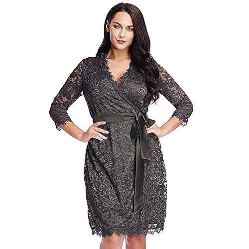 Grey Plus Size Dresses Amazon