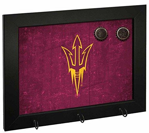 (Letter Art Arizona State Sun Devils NCAA Magnetic Hook Board - Team Color,)