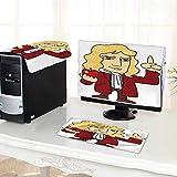 Best Lenovo Speaker Stands - UHOO2018 Desktop Computer Cover 3 Pieces Newton St Review