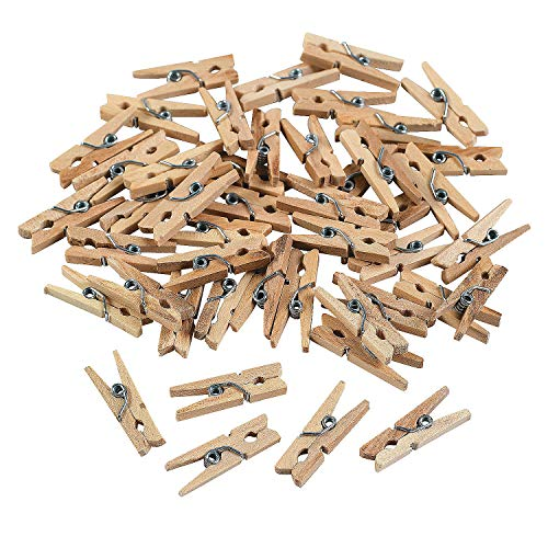 (Fun Express - Mini Clothespins - Craft Supplies - Bulk Craft Accessories - Misc Bulk Craft Accessories - 50)