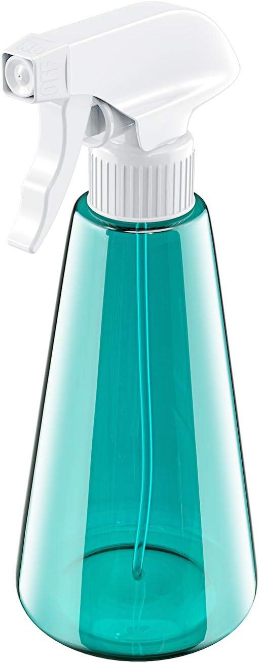 Babacom Botella de Spray Vacías Plástico (1 PCS), Spray Pulverizador Agua de Gatillo, Bote Spray Pulverizador para Plantas, Lejía, Limpieza, Jardinería y Cocina (500ML)