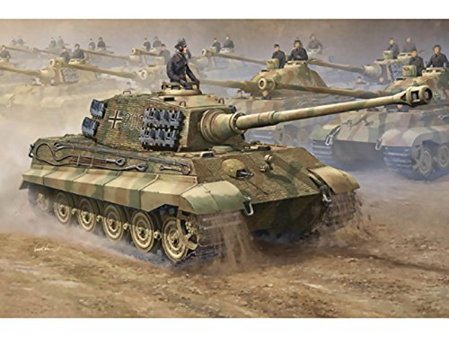 Trumpeter 1/16 00910 German King Tiger 2 1 (Henshl Porsche Turret and Turret)