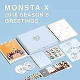 MONSTA X – 2018 Season's Greetings Calendar+Scheduler+Making DVD+Folded Poster+Free Gift