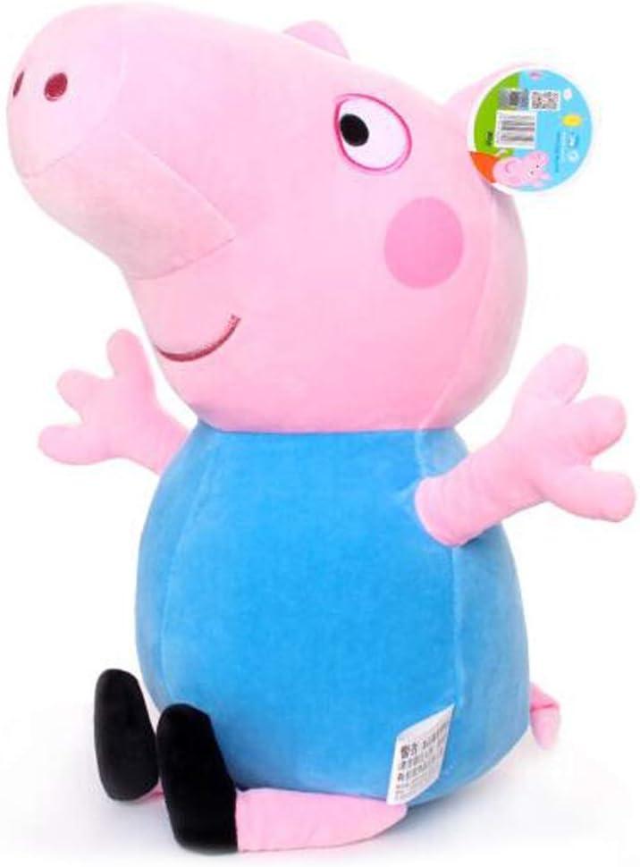 ぬいぐるみペギー人形人形人形女の子寝る枕枕豚マスコット少女人形ペーチ46CM ( Color : 青 , Size : 120cm )