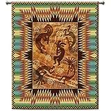 Kokopelli Tapestry Wallhanging