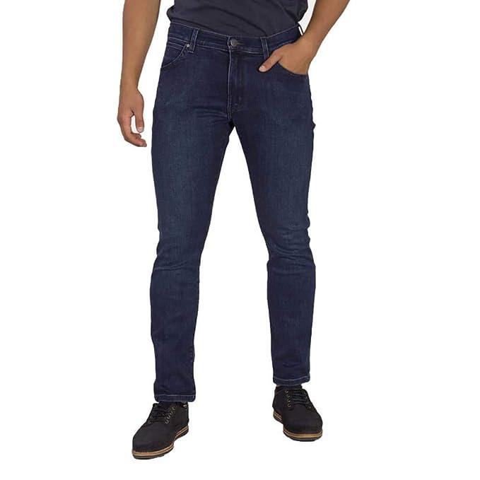 Wrangler Jeans Larston Spilled Indigo W18SMS26B: Amazon.it