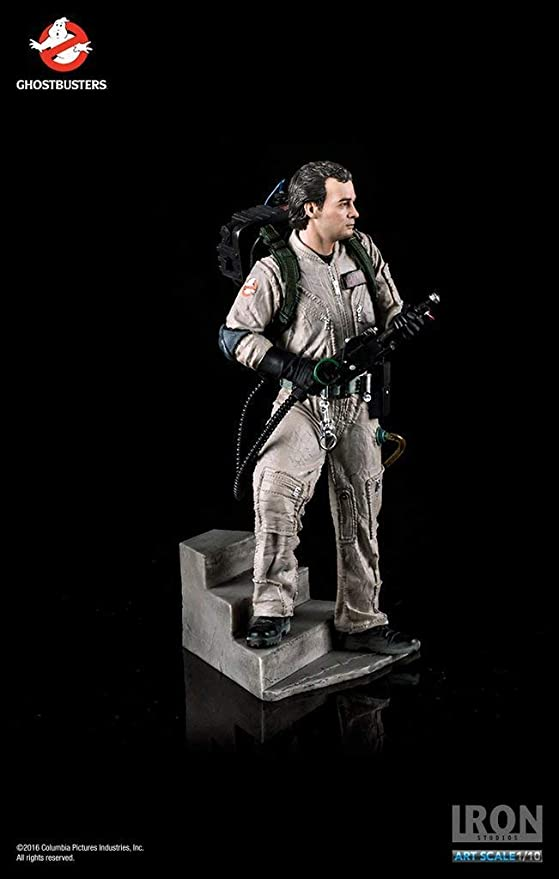 Iron Studios Ghostbusters Peter Venkman BDS Art Scale 1//10