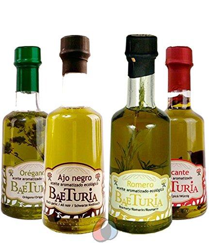4 x 250 ml Aceite de Oliva Virgen Extra ecológico aromatizado marca Baeturia por Oliva Oliva Internet S.L.: Amazon.es: Alimentación y bebidas