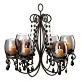 10015103 Wholesale Midnight Elegance Chandelier Candles Candle Lantern Fire Heat Light Whmart For Sale