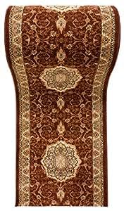 Alfombra de pasillo dise o oriental tradicional cl sica - Amazon alfombras pasillo ...