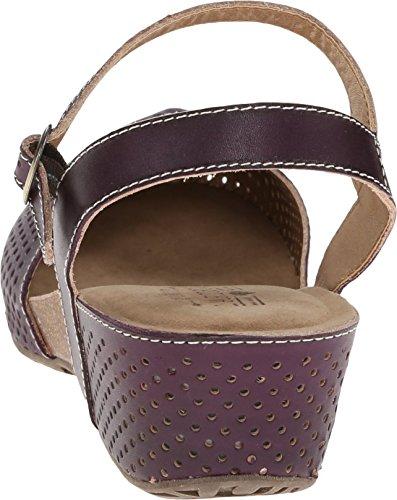 Lartiste Di Spring Step Womens Lizzie Sandalo Flat Purple