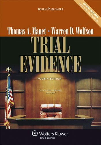 Trial Evidence 4e